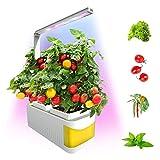 Intelligente Indoor Garden Kit Giardino delle Erbe di coltura idroponica Sistema di allevamento, Led Desktop Crescere luce dell'interno Giardino delle Erbe coltiva la lampada per Herb verdure Fiori