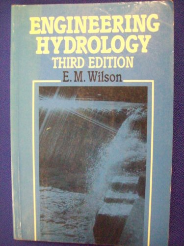 Engineering Hydrology (Civil English Hydraulics)
