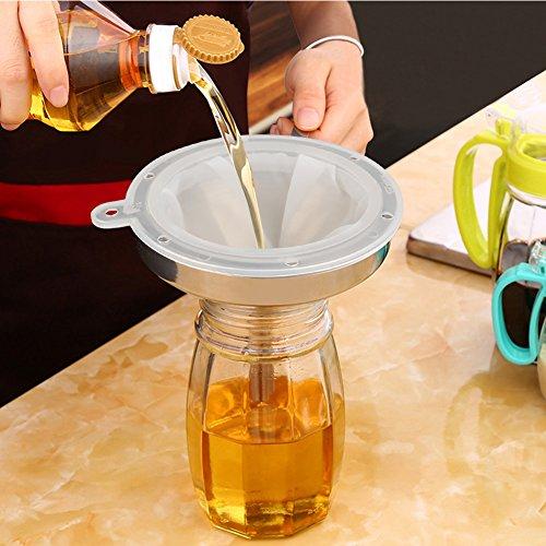 ATPWONZ Tala Jam Straining Set - Filtre alimentaire pour filtres alimentaires pour seringue pour accessoire de cuisine de 5 pouces (400 Mesh)