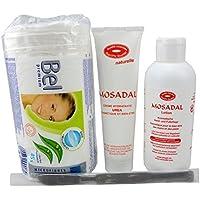 MOSADAL Set Nr. 3 - Kosmetische Hand- und Fußpflegeset 4 in 1 Professionelle Hornhautentfernung! Mosadal Lotion... preisvergleich bei billige-tabletten.eu