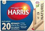 Harris-Accendifuoco ALUM02-20-Bastoncini da fiammiferi naturali