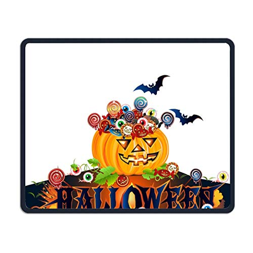 meniony Customized Non-Slip Rubber Mousepad Halloween Party Gaming Office Mouse Pad
