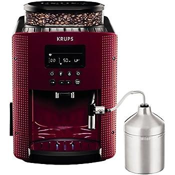 Krups EA816570macchine del caffè Espresseria Automatic Display, colore: rosso