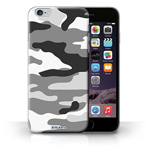 Kobalt Bianco 4 stampato Custodia Cover per iPhone 6+/Plus 5.5 cellulari telefoni / Collezione Camuffamento Army Navy Bianco 2