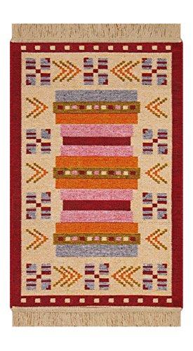 Home Life Alfombra, Algodón y Acrílico, Multicolor, 80 x 150 cm