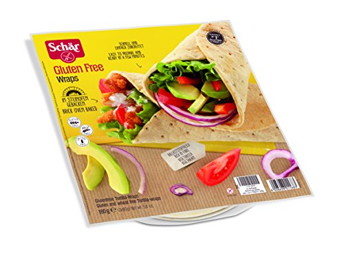 Schär Wraps glutenfrei 160g, 6er Pack Man Wrap