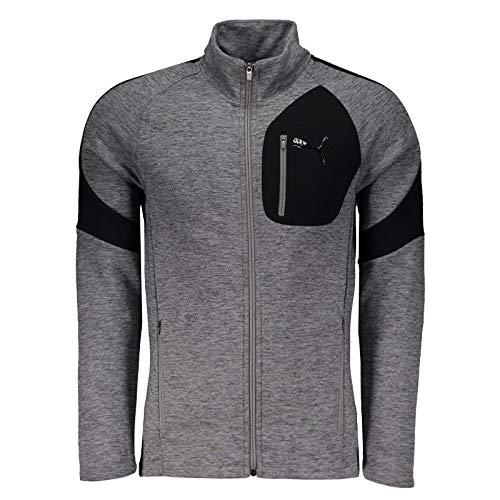 Puma Herren Evostripe Jacket Jacke, Medium Gray Heather, XL