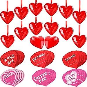 24 Piezas Adornos de Corazón