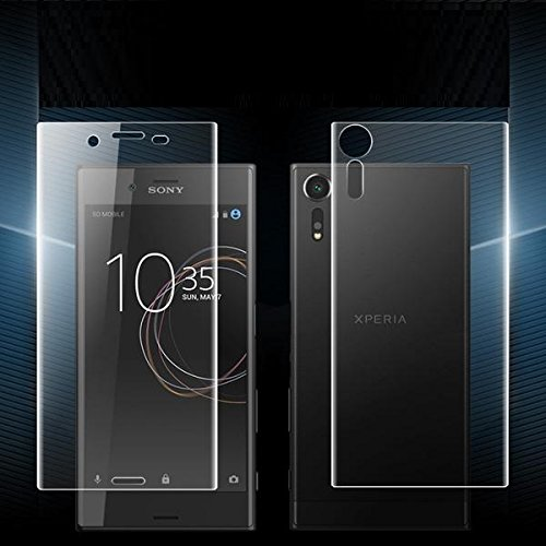 BestPriceEver Sony Xperia XZ Front & Back Flexible Unbreakable Screen Guard Glass Film