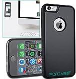 FLYCASE® [custodia antigravità per iPhone 6 6S] Custodia antigravità autoadesiva con nanotecnologia | ADATTAMENTO PERFETTO | Custodia per selfie antiscivolo