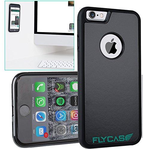 FLYCASE® [ iPhone-6 6S Anti-Gravity-Hülle ] Anti-Schwerkraft-Schutzhülle Selbstklebende Nano-Technologie | PERFEKTE PASSFORM | Goat-Case Anti-Slip Selfie-Hülle FlyCase iPhone 6 (Selfie Stick Lebenslange Garantie)
