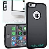 FLYCASE® [ iPhone-6 6S Anti-Gravity-Hülle ] Anti-Schwerkraft-Schutzhülle Selbstklebende Nano-Technologie | PERFEKTE PASSFORM | Goat-Case Anti-Slip Selfie-Hülle FlyCase iPhone 6