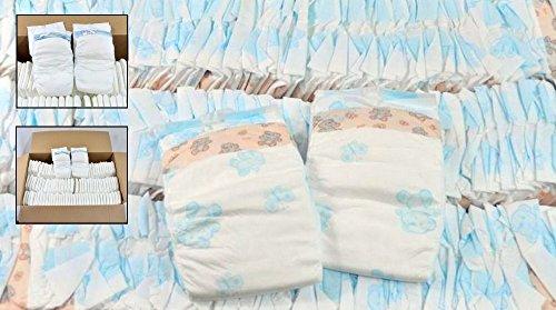 Windeln Babywindeln NEWBORN MINI MIDI MAXI JUNIOR Gr 1 Gr 2 Gr 3 Gr 4 Gr 5 Gr 6 (Größe 6 X-Large von 20 bis 30 kg 110 Stück)