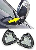 Carparts-Online 26425 LED Aussen Spiegel Umfeld Beleuchtung Hell weiss