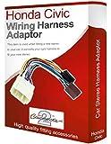 Connects2 Adapterkabelbaum für Honda Civic, für CD-Player/Radio, Stereo, ISO-Konverter