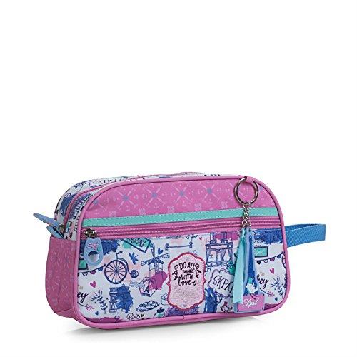 SKPA T - 55623 Neceser infantil, bolsa de aseo con asa lateral y cierr