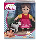 Heidi - Muñeca de 17 cm y Blanquita (Famosa 700012250)