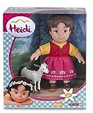 Studio 100  700012250 Puppen-Set, 2-teilig - Heidi mit Ziege