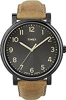 Timex Originals - Reloj análogico de cuarzo con correa de cuero unisex, color...