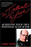 Image de The Intent to Live: Achieving Your True Potential as an Actor