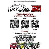 """Live Kicker 49018B Tischfußball Kicker """"Heimspiel"""" FC Bayern München - 4"""