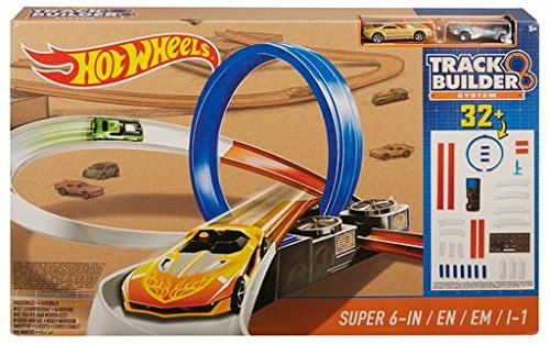 Hot Wheels DPF20 Track Builder System Super 6 in 1 Looping Track