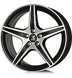 itWheels GABRIELLA matt black/polished - 7.0X16 ET35 5X110