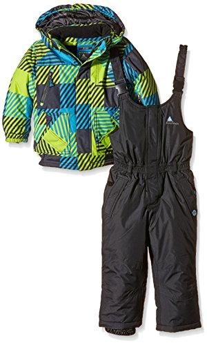 Peak Mountain Ecosmic Jungen Skianzug 8 Jahre Noir/Anis