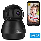 IP Camera Wifi 1080P, Indoor/Outdoor security camera with Night Vision Motion Detection 2-Way Audio Home Security Surveillance Pan/Tilt/Zoom Monitor for Baby/Elder/Pet
