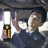 Magnet Haken COB LED Arbeitslicht, Siswong Super Hell Innenarbeit Draussen Erkunden Taschenlampe Handlampe Laternen Stirnlampe