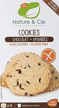 Nature & Cie Cookies Chocolat/Amandes 150 g - Lot de 6