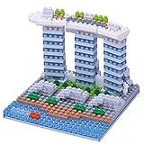 Nanoblock NBH, 123Building Block 3D Puzzle–Marina Bay Sands