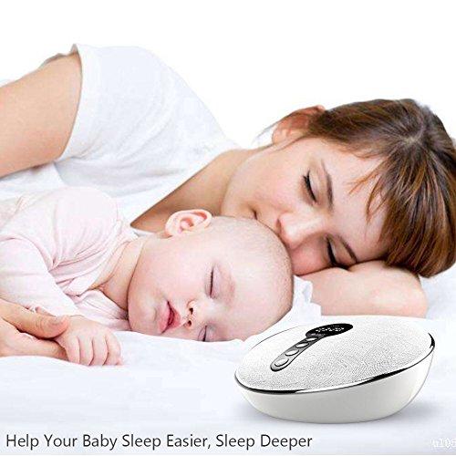 Einschlafhilfe für Erwachsene und Kinder Bluetooth Weißes Rauschen mit Schlaf Mode schlafen schnell, 3,5mm Klingenanschluss - weißes, schnell, schlafen, Rauschen, Mode, Mikrofon, Klingenanschluss, Kinder, Kartenplatz, Erwachsene, einschlafhilfe, Bluetooth