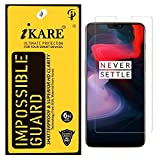 #10: Sajni Creations Ikare Impossible OnePlus 6 Tempered Screen Guard , Strong Plastic Fibre Unbreakable Flexible impossible Tempered Screen Guard Protector for OnePlus 6 / Oneplus 6 /1 plus 6 - Transparent (does not cover the edges)