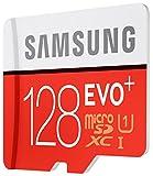 Samsung MicroSDXC 128GB EVO Plus UHS-I Grade 1 Class 10 Speicherkarte, für Smartphones und Tablets, mit SD Adapter [Amazon frustfreie Verpackung] - 4