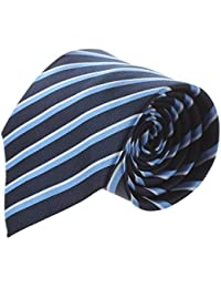 Men's Necktie - SODIAL(R)Classic Tie Jacquard woven Men's Silk Suits Ties Necktie Hanky CufflinksModel:9