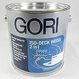 Gori ISO-DECK Weiss 2in1, 2,50 Liter