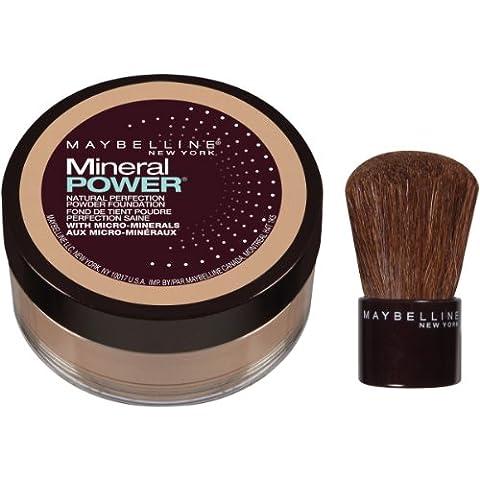 Maybelline New York Mineral Power Powder Foundation, Pure Beige- 0.28 (Maybelline Mineral Foundation)