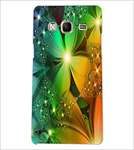 PrintDhaba Flower D-2340 Back Case Cover for SAMSUNG Z3 (Multi-Coloured)
