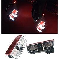 Iluminación para puerta de coche de NMXPW, 2 unidades, con el logotipo, iluminación de entrada