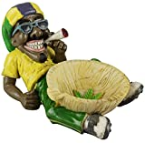 1 X Jamaican Man Holding Ashtray (LT46) by Fujima by Fujima