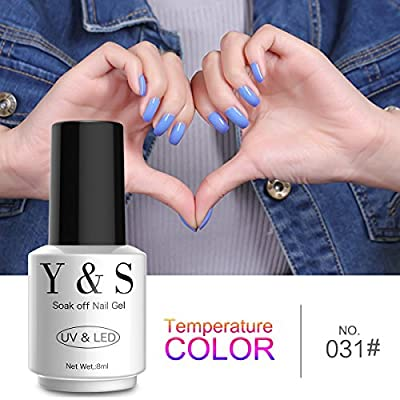 Y&S Brand Gel Polish Polish Soak Off UV LED Gel Nail Polish Nail Lacquer Manicure Nail Art Gel Polish 8ML