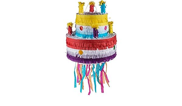 Pinata gâteau d/'anniversaire geburtstagspinata pour Enfants Anniversaire-Pinata piñata