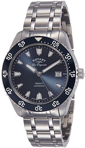 Rotary Herren - Armbanduhr Legacy Ocean Automatic Analog Automatik GB90168/05