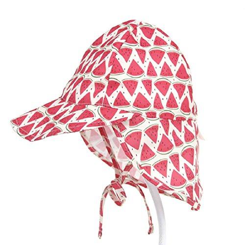 Boomly Niños Bebé Algodón Sombrero para El Sol UV50 + Proteccion Verano  Pescar Sombreros Plegable Gorro 6b64a22d41e