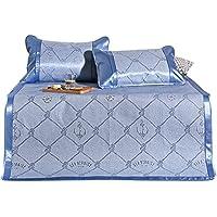Cool colchones Estera de Cama Plegable de la Seda del Hielo Espesa 3 Pedazos 1.5/1.8m Ropa de Cama Doble del Textil casero del Estudiante (Tamaño : 1.8m(6 Foot) Bed) - Comparador de precios
