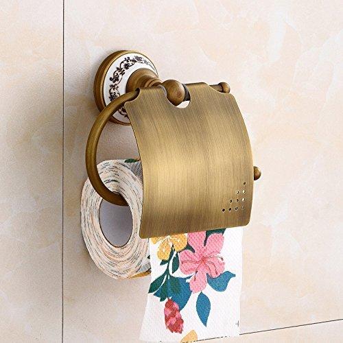 Flaschenhalter Kupfer antik toilettenpapierhalter Europäischen toilettenpapierkasten papierrolle...
