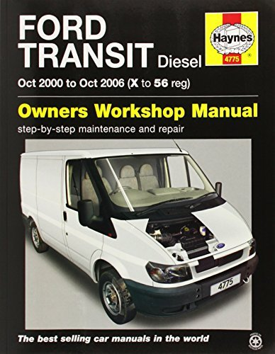 Ford Transit Diesel (Oct 00 - Oct 06) Haynes Repair Manual (Haynes Service and Repair Manuals) by Anon (2014-11-27)