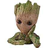 Unique Shape Groot Pen Stand Cum Flower Pot Plant Marvel Infinity war Tree Man