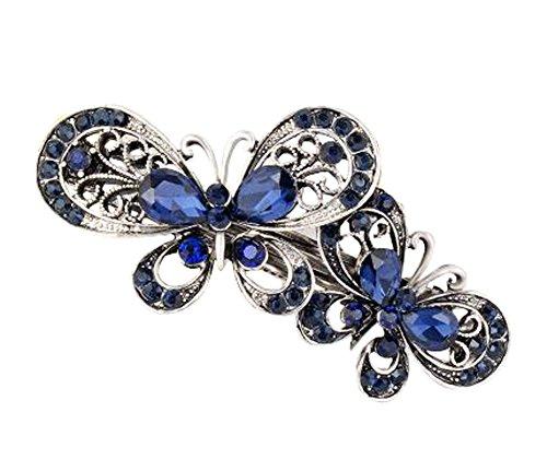 Lot de 2 Attractive cheveux Bow papillon Clips Accessoires cheveux Bobby Pins